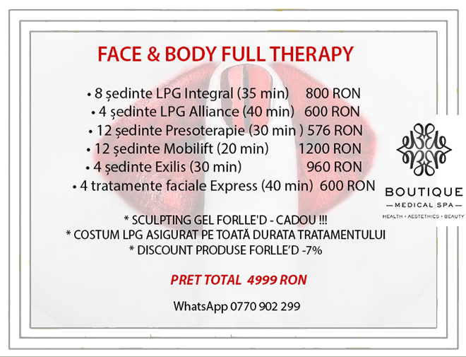 Face & Body Full therapy